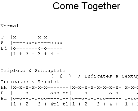 come together guitar tab pdf